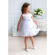 Платье нарядное белое Рафаэла