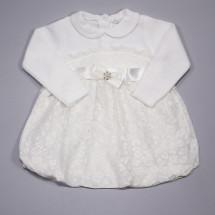 Платье нарядное для малышек кремового цвета Сладкоежка