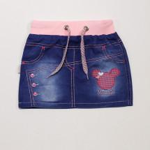 Юбка джинсовая для девочек Minnie