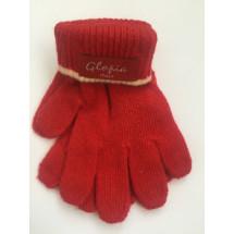 Перчатки зимние красного цвета Glopia