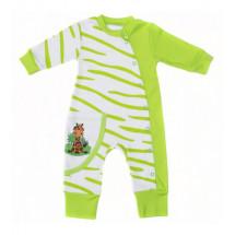 """Комбинезон с манжетами зеленого цвета для малышей """"Сафари"""""""