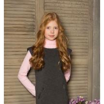 """Водолазка для девочек розового цвета """"Элина"""""""