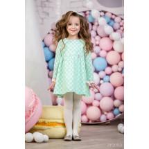 """Платье с длинным рукавом бирюзового цвета """"Little dress"""""""