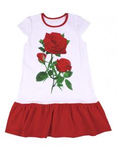 """Платье летнее для девочек """"Ночная роза"""""""