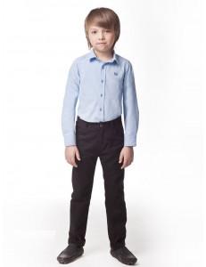 """Рубашка для мальчиков голубого цвета """"Чемпион"""""""