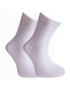 Носки детские белые гладкие