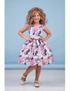 """Платье нарядное с нежными цветами """"Flowers dress"""""""