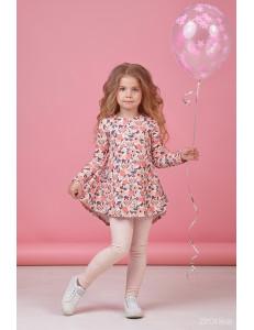 """Комплект персикового цвета брюки и туника """"Маленькая красотка"""""""
