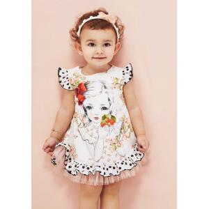 """Платье для малышек cocoland с рюшами """"Милашка"""""""