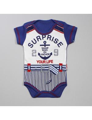 Боди с коротким рукавом для малышей surprise