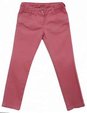 Джинсы на девочку дымчато-розовые