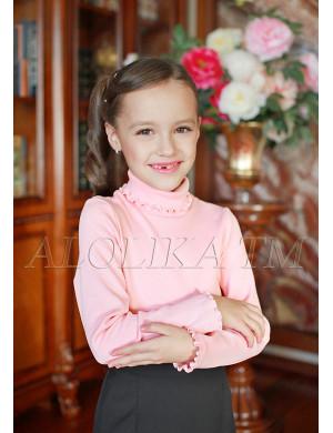 """Джемпер для девочек розового цвета """"Кэри"""""""